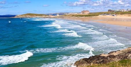 North Fistral Surf Report