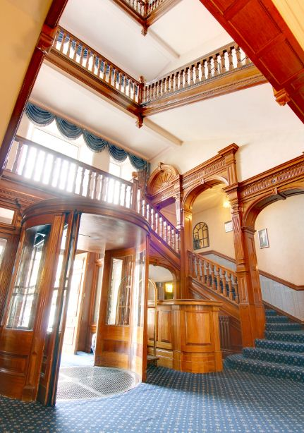 Hotel Victoria Staircase