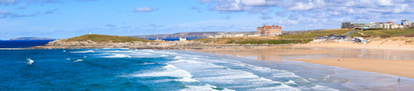 Fistral Beach is a critically acclaimed beach in Newquay, Cornwall