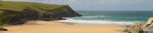 Porth Joke is a great beach near Newquay