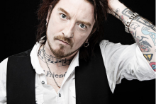 Ginger Wildheart to play at Lane Theatre Newquay this May