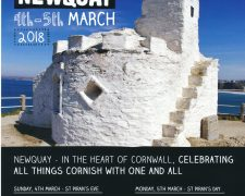 St Piran's Day celebrations in newquay 2018 - concert and parade to celebrate Cornwall's patron saint - St Piran.