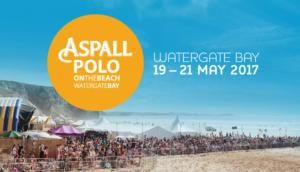Aspall polo on the beach