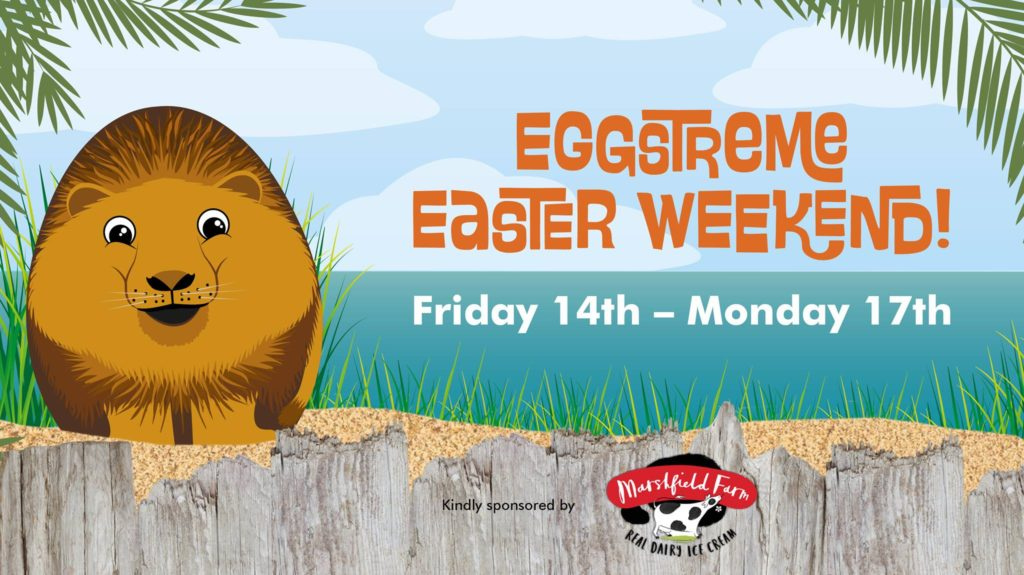 Eggstreme Easter Weekend at Newquay Zoo
