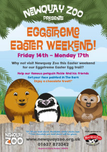 Easter Fun at Newquay Zoo - 14th - 17th April 2017