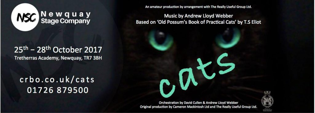 Cats Production by the Newquay Stage CompanyCats Production by the Newquay Stage Company