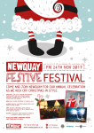 Newquay Festive Festival kicks off with a lantern parade, fireworks display and the switch on of the Newquay Christmas lights.