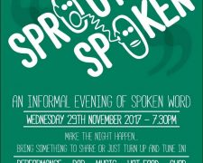 sprout spoken - November Event at Sprout Newquay