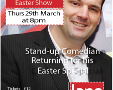 Johnny Cowling Easter Show - Lane Theatre Newquay Cornwall