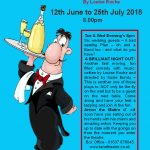 Newquay Dramatic Society Presents their first summer play for 2018: Lucky Balls at Lane Theatre