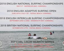 Surfing Championships Watergate Bay
