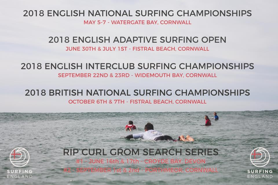 Surfing Championships Watergate Bay