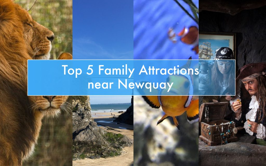top 5 family attractions near newquay