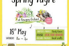 Spring Fayre May at Newquay Community Orchard
